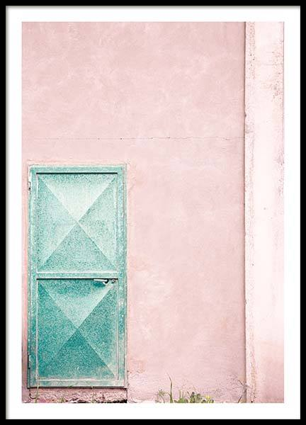 Mint Door Poster in the group Prints / Photographs at Desenio AB (10044)