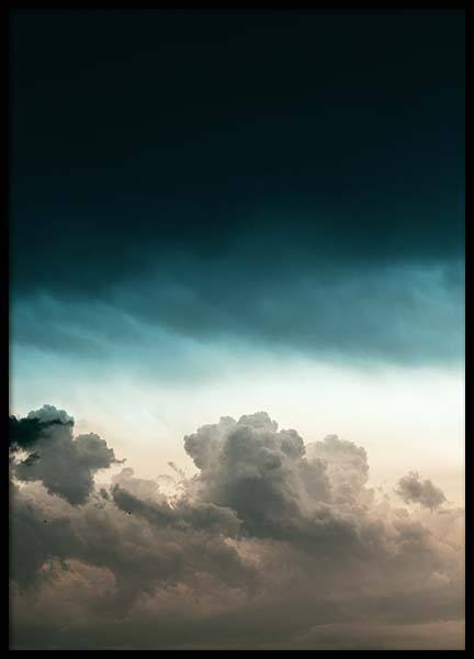 Sunset Storm Poster in the group Prints / Nature at Desenio AB (10084)