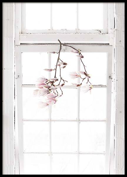 Flowers In The Window Poster in the group Prints / Photographs at Desenio AB (10182)
