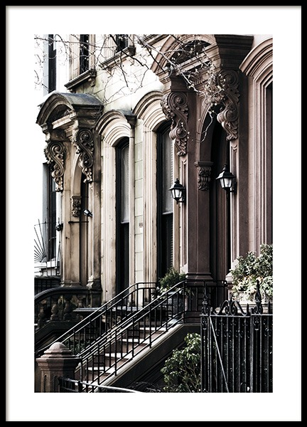 Brooklyn Building Poster in the group Prints / Photographs at Desenio AB (11318)