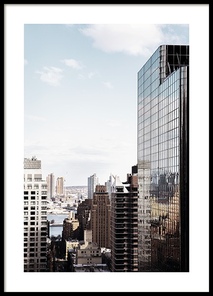 NYC Skyscraper Poster in the group Prints / Photographs at Desenio AB (11325)