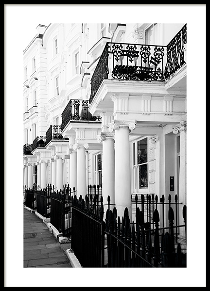 Notting Hill Street Poster in the group Prints / Photographs at Desenio AB (11371)