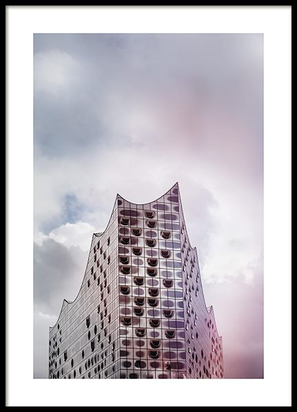 Elbphilharmonie Poster in the group Prints / Photographs / Architecture at Desenio AB (11390)
