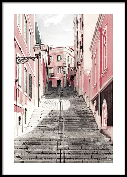 Street of Lisbon Poster in the group Prints / Photographs at Desenio AB (11808)