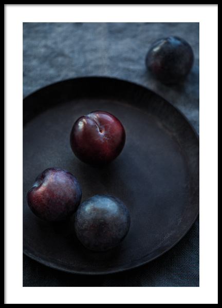 Winter Plums Poster in the group Prints / Kitchen at Desenio AB (11836)