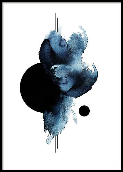 Aquarelle Shape Poster in the group Prints / Art prints at Desenio AB (3504)