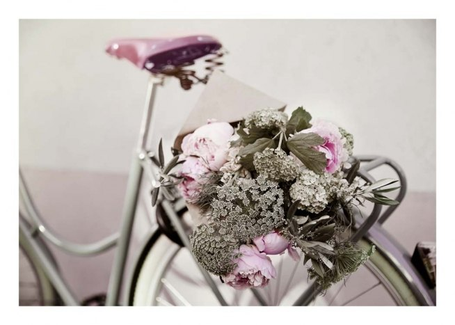 Flowers on Bike Poster / Photographs at Desenio AB (10559)
