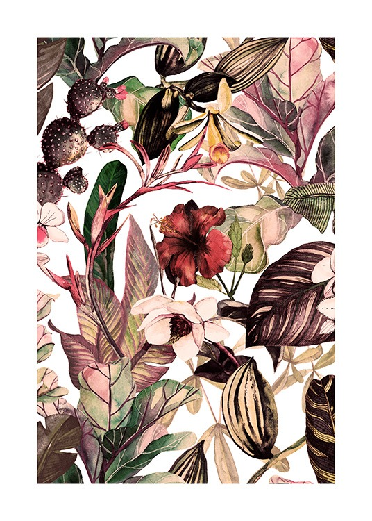 Botanical Pattern No2 Poster / Art prints at Desenio AB (12087)