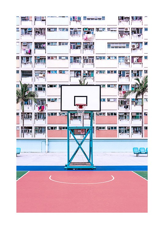 Basketball Hoop Poster / Photographs at Desenio AB (12604)
